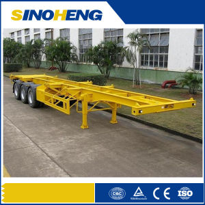 Hot Sell 20ft 40ft Skeleton Container Semi Trailer pictures & photos
