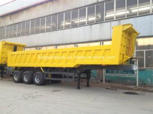 China Rear Dump Semi Trailer/ Cimc Dump Semi Trailer for 60tons