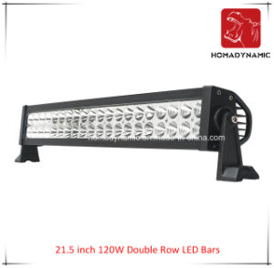 LED Car Light of 21.5 Inch 120W Double Row LED Light Bar for SUV Car LED off Road Light and LED Driving Light pictures & photos