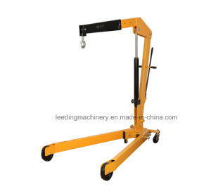 2ton Low Profile Foldable Shop Crane Cherry Picker Lift pictures & photos