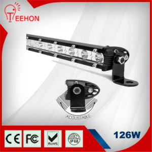IP68 126W Single Row LED Light Bar pictures & photos