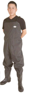 Men′s Mesh Lining PVC Chest Wader pictures & photos