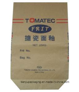 Chemical Powder Dry Mortar Bag Paper Bag for Building Site pictures & photos