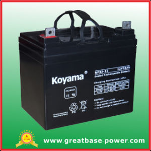 High Quality UPS Battery Storage VRLA Battery 33 Ah 12V pictures & photos