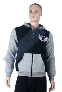 Healong Best Design Cut and Sewn Cotton Hoodies pictures & photos