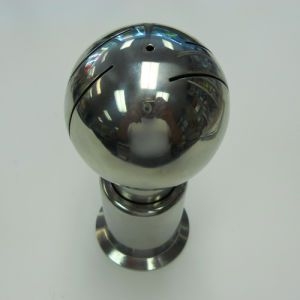 "Clamp 304 Stainless Steel 3/4"" Rotating Spray Ball pictures & photos"