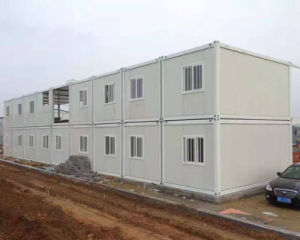 Movable Container House for Labor Camp/Resturant pictures & photos