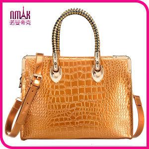 Desginer 12.5 Inch PU Leather Unisex Laptop Tote Bag (NM-L-006)