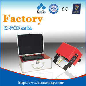 Flexible Pneumatic DOT Pin Marking Machine 80X20mm pictures & photos