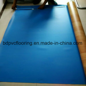 Wood Pattern PVC Commercial Flooring, 2.0mm Waterproof Commercial PVC Flooring pictures & photos