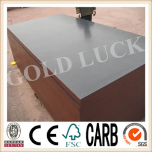 Gold Luck Pine Wood Film Faced Plywood for South America pictures & photos