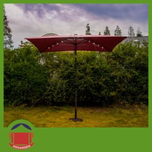 2X3m Garden Parasol with Bright Color pictures & photos