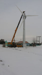 50kw Horizontal Axis Wind Turbine System pictures & photos