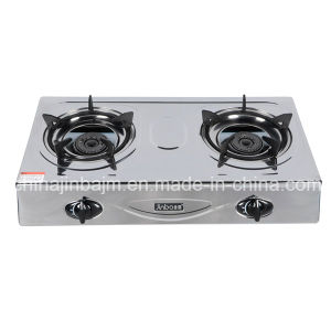 2 Burner High Pressure Stainless Steel Gas Cooker pictures & photos