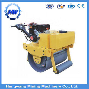 Small Walk-Behind Single Drum Vibratory Hand Road Roller pictures & photos