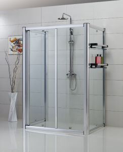 Framed Rectangular Sliding Shower Enclosure  (YTZ-007)