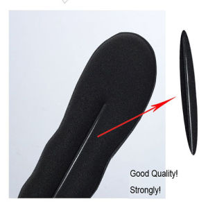 Solid Black Nylon Sponge Taenia Headbands Hair Donut Hairdisk Device Quick Messy Bun Hairstyle Hats pictures & photos