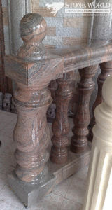 Granite Carving Banister Raillings for Indoor Decoration (CV036) pictures & photos