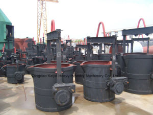 Good Quality Molten Iron Manual Ladle/ 2tons Iron Ladle pictures & photos