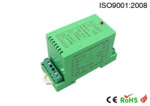 DIN Rail Frequency Signal to 0-5V 0-10V 4-20mA Signal Conditioner pictures & photos