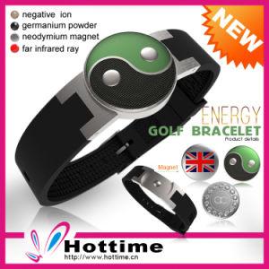 2013 Magical Sport Silicon Golf Energy Bracelet pictures & photos
