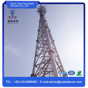 Self Supporting 3 Legs Pipe Communication Steel Tower pictures & photos