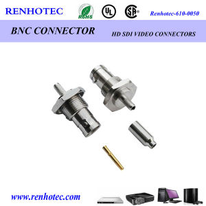 Straight Crimp BNC Female Connector for Rg316 pictures & photos