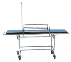 Stainless Steel Four Little Wheels (Patient Push-trolley) pictures & photos