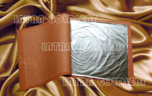 Silver Imitation Leaf, Aluminum Leaves in Booklet
