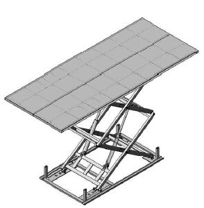 Scissor Lift Platform with Ce