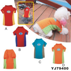 Dog T-Shirt, Fashion Summer Pet Apparel Dog Clothes (YJ79400) pictures & photos