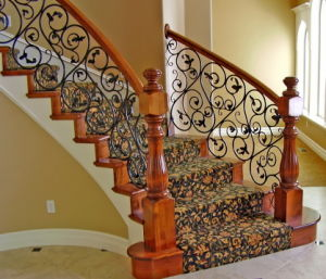 Modern Wrought Iron Railing Design pictures & photos