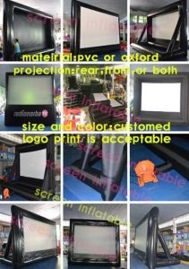Low Price New Coming Inflatable Movie Screen pictures & photos