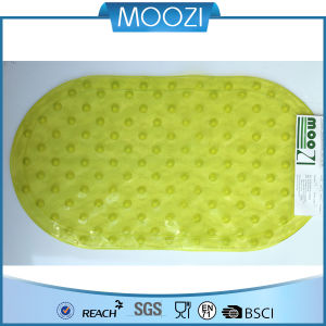 Non-Slip Kids Safety Bath Mat, Vinyl (Green) (D114)