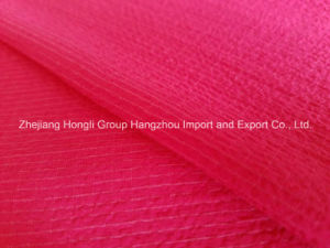 Composite Filament Crinkled Crepe Chiffon Fabric for Ladies′ Dress pictures & photos