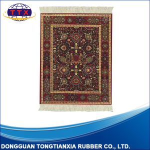 Printed Mouse Rug with Fringe pictures & photos
