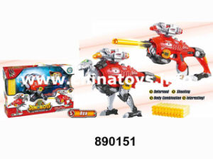 The Latest Metal Dinosaur Deformation Soft Bullet Gun (890150) pictures & photos