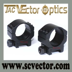 Vector Optics Tactical 30mm Extreme Low Riflescope Weaver Mount Ring Heavy Duty pictures & photos