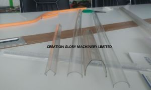 Matured Plastic Extruding Technology PMMA LED Lampshade Production Machine pictures & photos