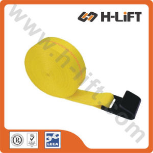 Polyester Winch Strap with Flat Hook pictures & photos