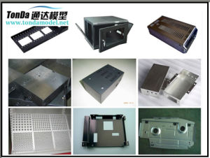 Aluminium Metal Sheet Bending Laser Cutting Machinery Parts pictures & photos