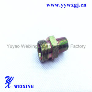 Straight 18 Male Thread Fitting Quick Coupling
