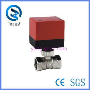 Motorized Ball Valve (BS-868-25) pictures & photos