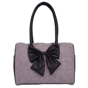 Casual Fabric Lady′s Handbags with a Bowknot pictures & photos