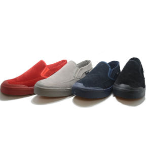 New Color Matching Classical Canvas Casual Student Men One Shoes pictures & photos