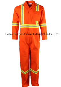 Gas and Oil Feild Workwear Flame Retardant Coverall pictures & photos