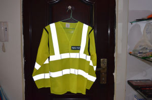 Traffic Police Long Sleevw Reflective Safety Jacket pictures & photos