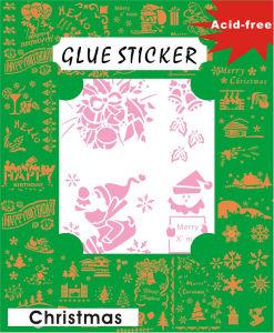 DIY Flower Glue Sticker for Decoration GS202