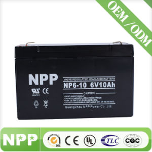 Sealed Rechargeable Lead Acid Battery (6V10ah)