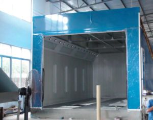Good Ventilation Water Based Painting Booth pictures & photos